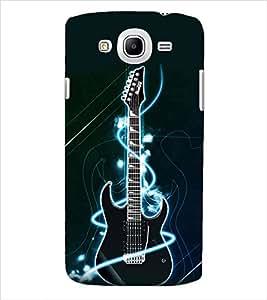 ColourCraft Guitar Back Case Cover for SAMSUNG GALAXY MEGA 5.8 I9150 / I9152