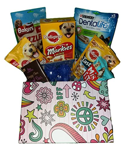 Dog Treat Hamper.inc Products By Pedigree, Bakers, Purina And Mis Fits.