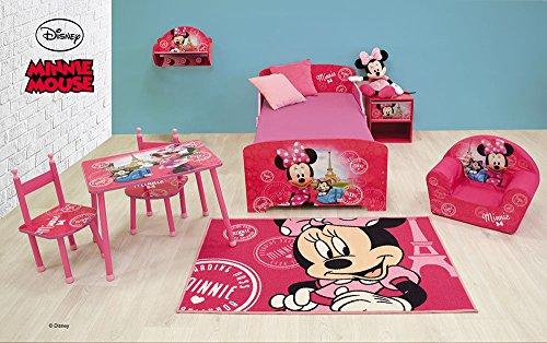 FUN HOUSE Disney Minnie Etagère Porte Manteau pour Enfant, MDF, 46 x 33 x 15 cm