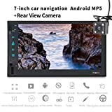 WWCAR 2Din Auto Radio GPS Navigation 4G Quadcore Pure Android 6.0 Multimedia-Player Auto PC Tablet Doppel-7 Zoll mit Telefon Bl Uetooth