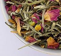 Chamomile Rose White Tea 50gm (1.71oz) as Sleep Time, also calms upset stomach, a Loose Leaf Darjeeling Teas by Darjeeling Tea Boutique