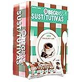 Actafarma Obegrass Sustitutivas Barritas Sabor Chocolate y Café, 8Ud
