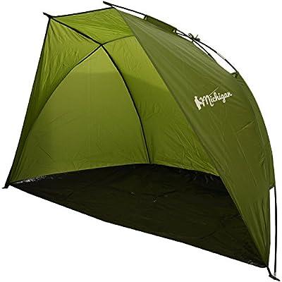 Michigan 1/2 Person Olive Fishing Bivvy Beach Sea Coarse Shelter Tent from Michigan