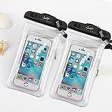 Universal Wasserdichte Schutzhülle, JOTO Handy Dry Bag Pouch für iPhone 8/7/7Plus/6S/6/6S Plus/SE/5S, Samsung Galaxy S8/S8Plus/Note 8654, Google Pixel 2HTC lg2p, 32-4-2