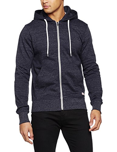 JACK & JONES Herren Jacke Jorstorm Sweat Zip Hood Basic Noos, Blau (Navy Blazer Fit:Reg), Large (L)