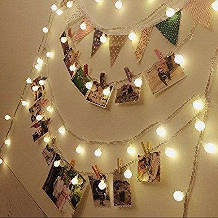Neretva LED Photo Clips String Lights Christmas Lights Starry light ...