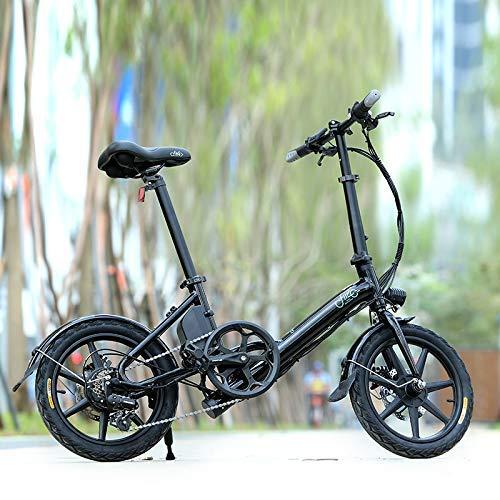 NIMI Bicicleta eléctrica Plegable Ligera