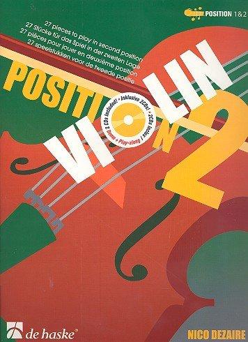 Violin Position 2 (+CD) : 27 Stücke für das Spiel in der 2. Lage