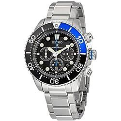 Mens Seiko Prospex Chronograph Solar Powered Watch SSC017P1