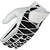 GRIP BOOST Second Skin Men's Golf Glove 2.0 (Worn on The Left Hand, Negro, Medium)
