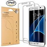 """Arbalest® S7 Edge Protector de Pantalla, [Extreme Clear] 3D a Pantalla Completa Alta definición Transparente Protectores de pantalla de película para Samsung Galaxy S7 Edge Smartphone (pantalla 5.5"""")"""