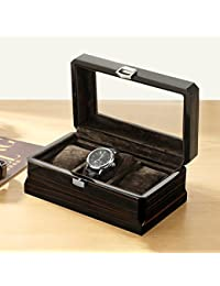 Caja de regalo de madera Caja de la joyería Caja de reloj de madera Caja de