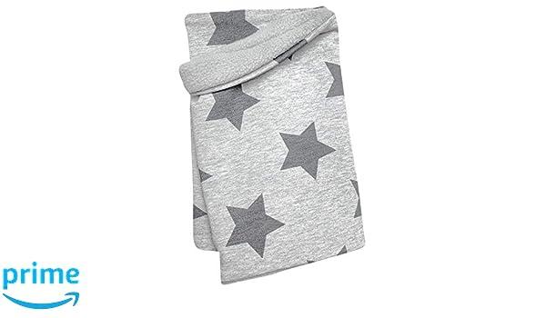 per ragazzi e ragazze 20199082 scaldacollo//sciarpa per ragazzi e ragazze stella grigio m/élange interno in pile Wollhuhn Gomitolo di lana