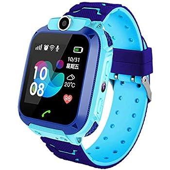 iYoung Localizador GPS Niños, Tarjeta SIM 2G con SOS Anti-Lost Alarm para Tarjeta Pantalla Táctil Smartwatch para Años De Edad Regalo De Cumpleaños ...