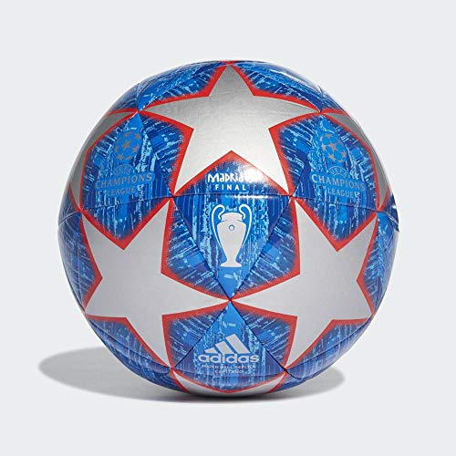 adidas Fussball UCL Finale Madrid 2019 Capitano Silver met./Bold Blue/Football Blue/Light Blue 3