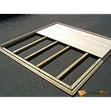 Plancher en bois pour abri de jardin en bois 448x298cm