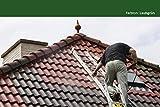 24KG Dachfarbe in Laubgrün für Ziegel, Dachpfanne, Eternit TÜV-GEPRÜFT Dachsanierung Dachbeschichtung Dachziegel Farbe Grün