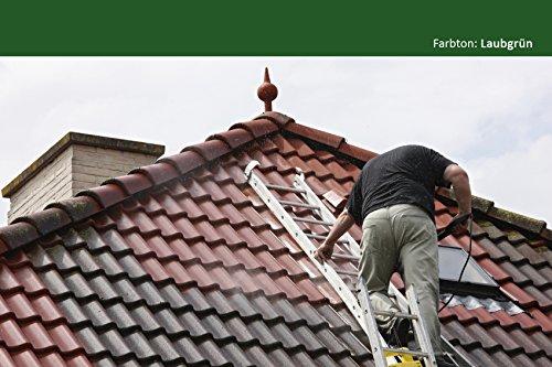 BEKATEQ BE-510 Dachfarbe, 10l Grün, für Ziegel, Dachpfanne, Eternit - Dachsanierung Dachbeschichtung Dachziegel Farbe