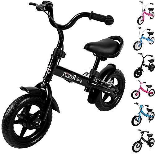 Deuba Kinderlaufrad Kinder Fahrrad|10 - 12 Zoll | von 2-4 Jahren | h&oumlhenverstellbar |Lauflernrad Lernlaufrad