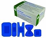 Automotive Parts Accessories Best Deals - Safety First Aid d7010hypaplast Pansements assortis Taille Restauration, bleu, lot de 100
