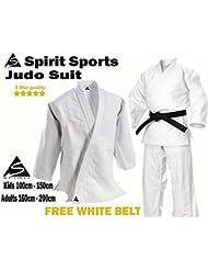 Uniforme pour entraînement de judo 100 % coton 550 g