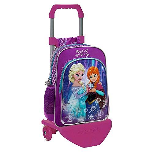 Disney 25123M1 Frozen Keep Calm Mochila Escolar, 19.2 Litros, Color Azul