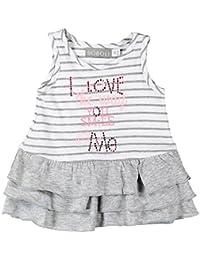Boboli Vestido Punto Liso Para Bebé Niña