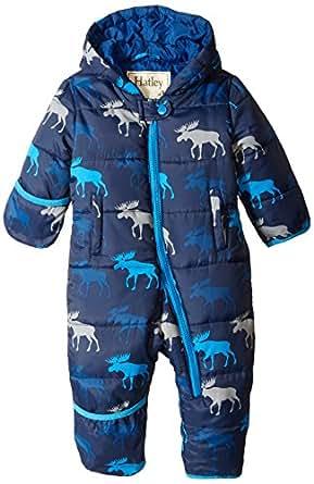 Hatley Baby Boys 0 24m Graphic Moose Winter Puffer