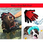 Moggiez & Doggiez PET GROOMING GLOVE/DESHEDDING BRUSH – Pack of Two Gloves –Effective Cat and Dog Hair Remover… 15