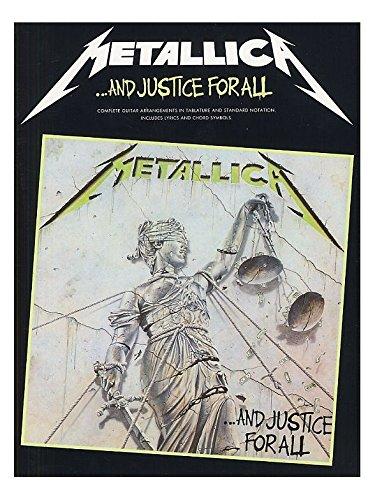 Metallica: ...And Justice For All Guitar Tab Edition. For Tablatura di Chitarra(con il cifrato degli accordi)