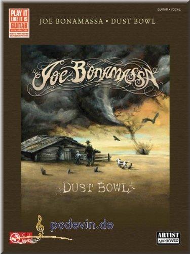 Preisvergleich Produktbild Joe Bonamassa - Dust Bowl - Gitarrenoten [Musiknoten]