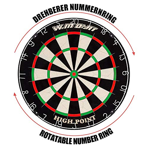 Winline Bristle Steel Dartboard - 4
