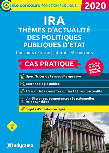 Ira - Themes d'Actualite des Politiques Publiques d'Etat