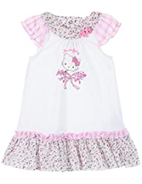 Vestido Manga Sin Mangas Bebé Niña Charmmy Kitty rosa y azul ...