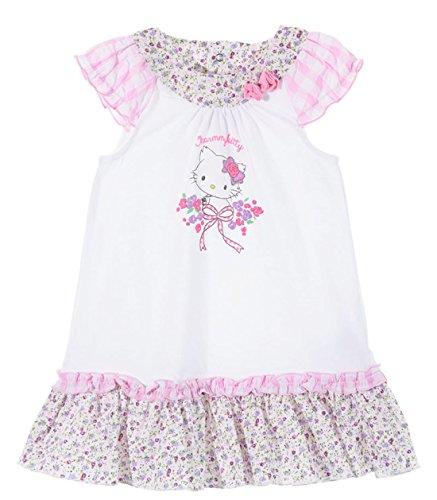 Kitty Kostüm Mädchen Baby - Charmmy Kitty Baby Mädchen (0-24 Monate) Kleid rosa Weiß/Rosa 12 Monate
