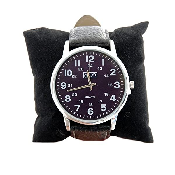 Eton Reloj para Hombre Reloj de Pulsera de Acero con Esfera marrón analógica
