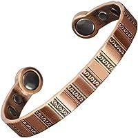 High Power Magnet-Armreif Kupfer Armband für Damen Herren Magnet Armbänder für Arthritis Schmerzlinderung Karpaltunnelsyndrom... preisvergleich bei billige-tabletten.eu