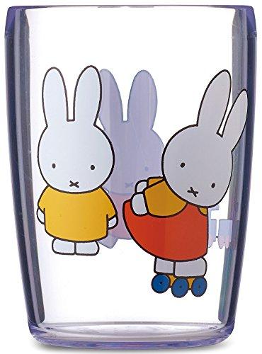 Rosti Mepal 108114065215 Trinkglas 200 ml - miffy Spiel Kunststoff, Miffy Spielt, 6.8 x 6.8 x 9.1 cm
