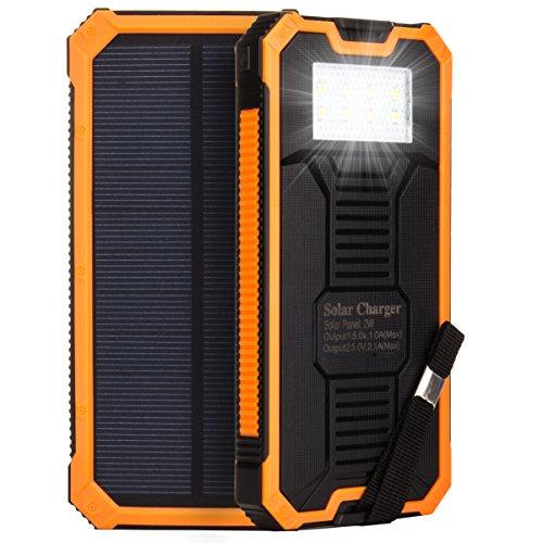 HanLuckyStars 15000mAh Cargador Solar...