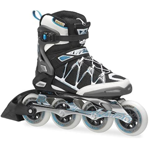 Rollerblade Inlineskate Fitness Recreational Igniter 90 XT W - Patines en línea, color blanco, talla
