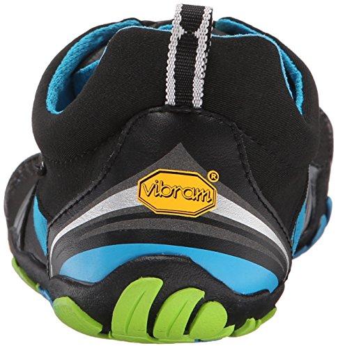 Vibram - scarpe da arrampicata da uomo Mehrfarbig (Black/blue/green)