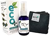 Eyeglass, Lens and Optical Cleaner - Fine Microfiber Towel - All Natural - MADE IN UK, GREEN PRODUCT, NO AMMONIA AND ALCOHOL, Cleans all dusts and stains, Use for Glasses, Sun Glasses, Reading Glasses, Camera Lens and Spectacles without harming the coating of the Glass/Lens