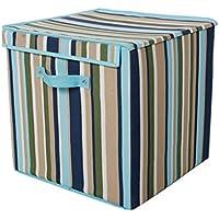 Aufbewahrungsbox Faltbare Bett Boden Box Unterwäsche Sock Bekleidung Dormitory Artifact ( farbe : Blau ) preisvergleich bei kinderzimmerdekopreise.eu