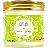 Khadi Mauri Herbal Neem & Tea Tree Oil Face Pack - Anti Acne Essential - 200g