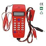 Lorenlli Ajuste el probador de Cable de línea telefónica NF-866 con Pantalla de visualización Tele Fiber Optical Tool Check DTMF Identificador de Llamada Máquina de búsqueda automática de detección