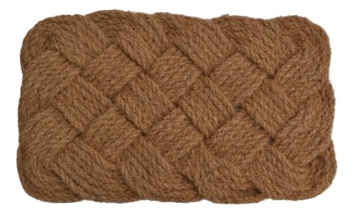 Importe Décor natürlichen Seil Jute Teppich, 61cm von 94cm - Rechteck, Tan Teppich