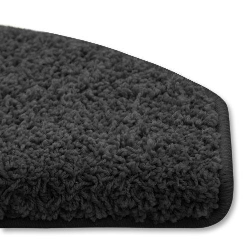 Shaggy Stufenmatten Premium S Line | Schwarz