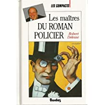 MAITRES ROMAN POLICIER    (Ancienne Edition)
