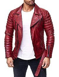 Suchergebnis auf Amazon.de für  Bikerjacken Herren  Bekleidung 386d98cead