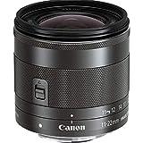 Canon EF-M 11-22mm F4-5.6 IS STM (55mm Filtergewinde, Superweitwinkel-Zoomobjektiv) schwarz